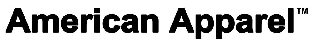 american apparel logo fashion and clothing logonoidcom