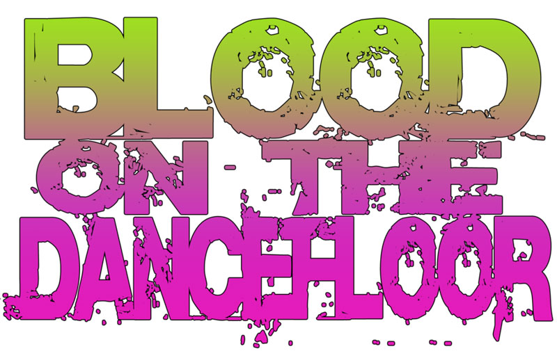 Blood on the Dance Floor Logo