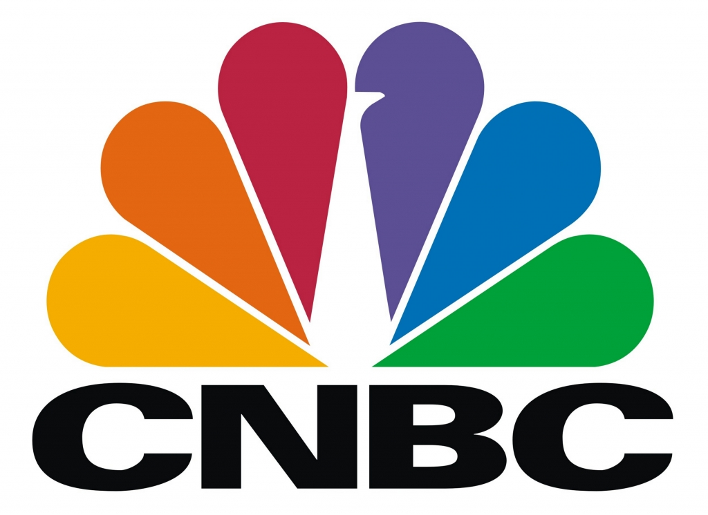CNBC peacock logo