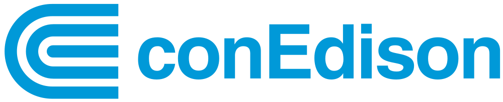 conEdison Logo in blue type
