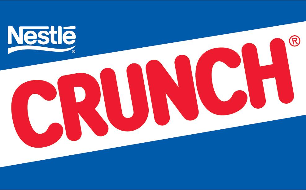 crunch logo food logonoidcom