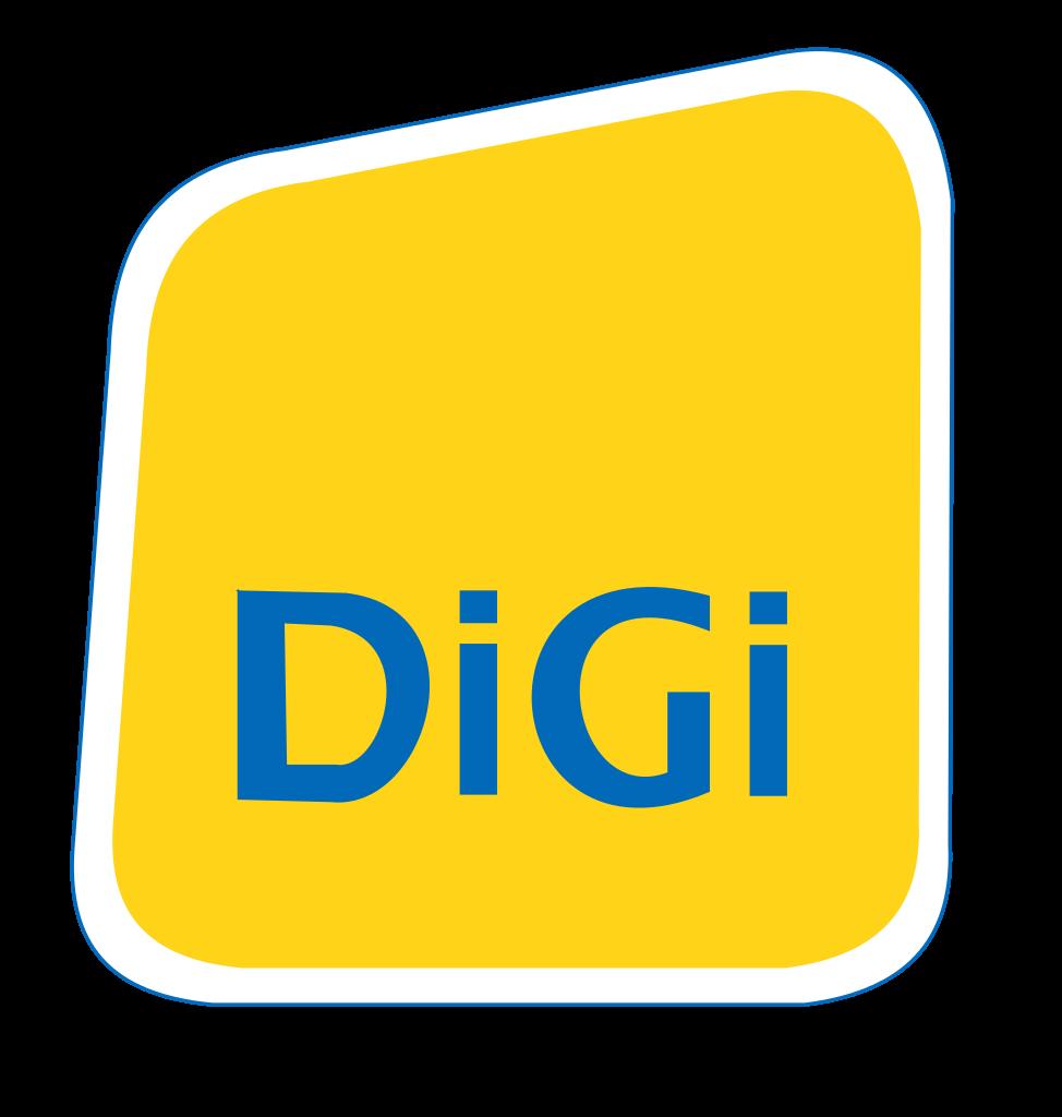 DiGi Logo / Telecommunications / Logonoid.com