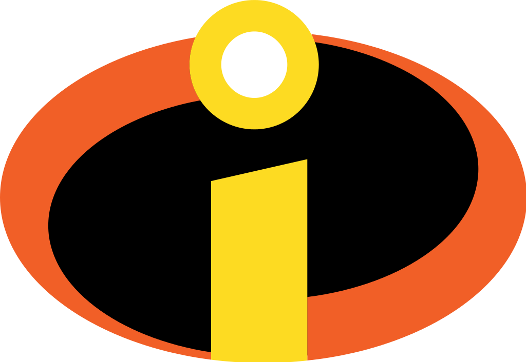 Incredibles Logo / Entertainment / Logonoid.com