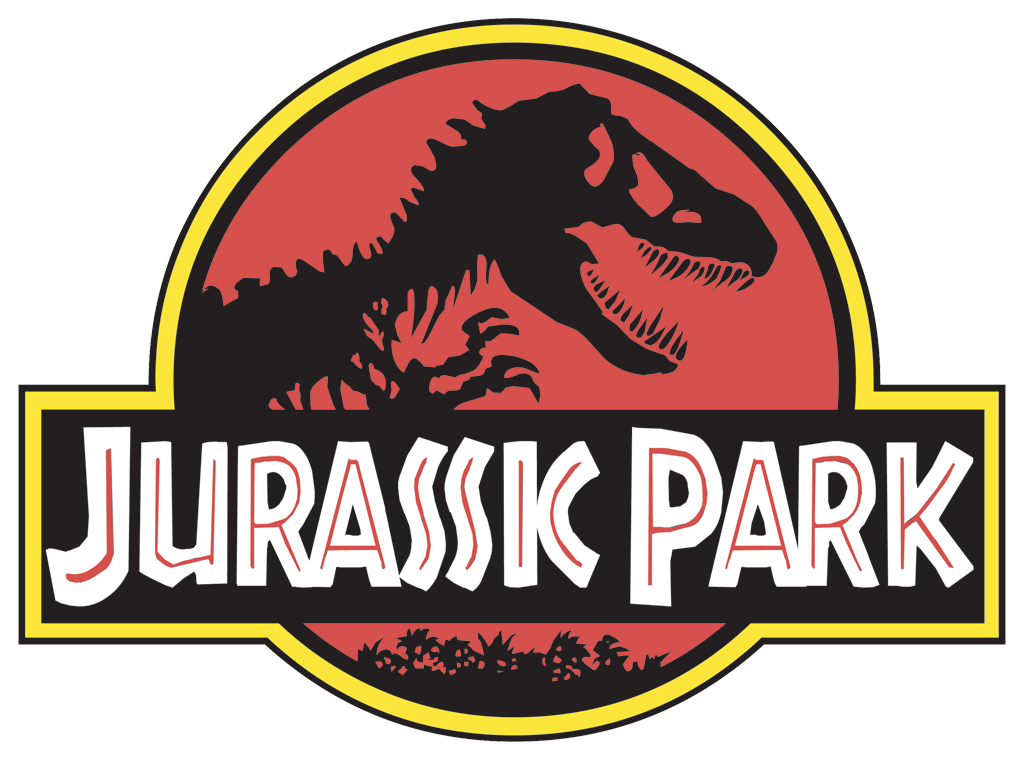 jurassic park logo entertainment logonoid com