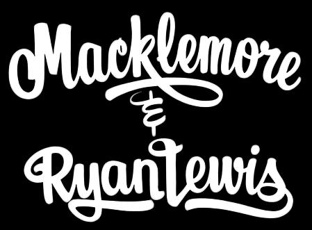 Macklemore & Ryan Lewis is an American hip hop duo.