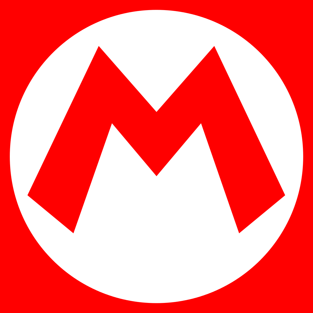 Mario Logo / Entertainment / Logonoid.com