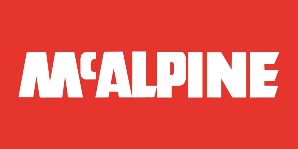 Mcalpine logo construction logonoid com