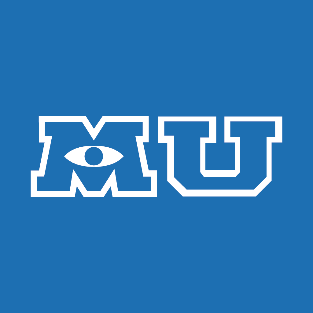 image gallery monsters university logo