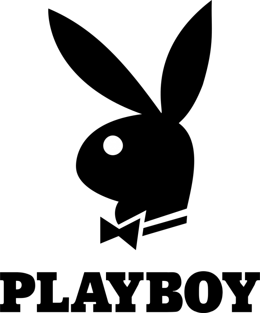 Playboy Bunny Logo. Playboy Enterprises, Inc. is an American privately ...: logonoid.com/playboy-logo
