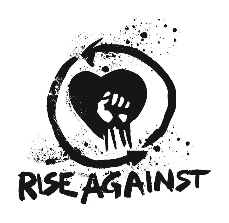 Rise Against Logo Music Logonoid Com