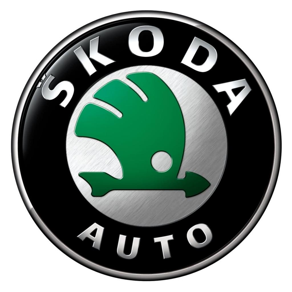 передній логотип skoda