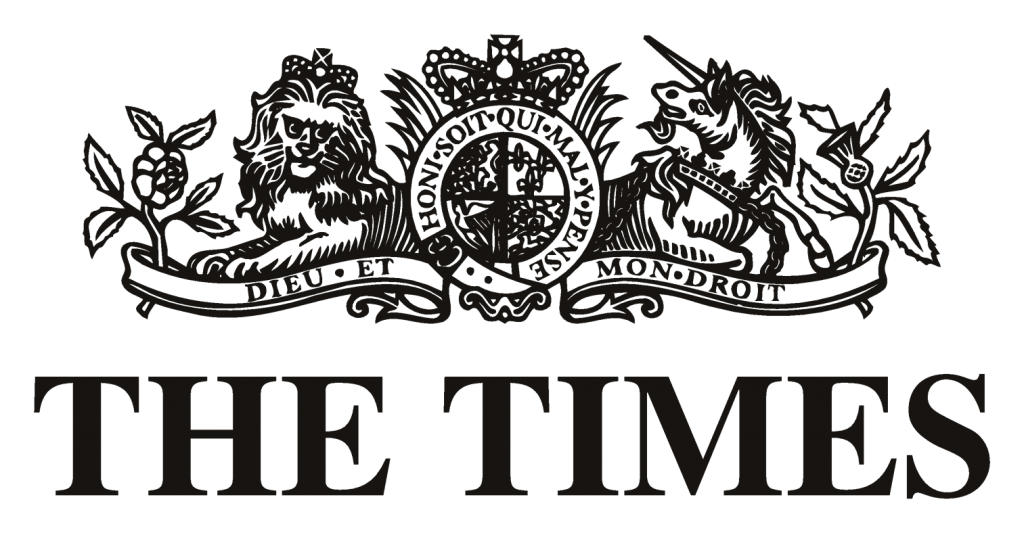 Image result for the times logo