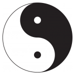 Yin and yang Logo