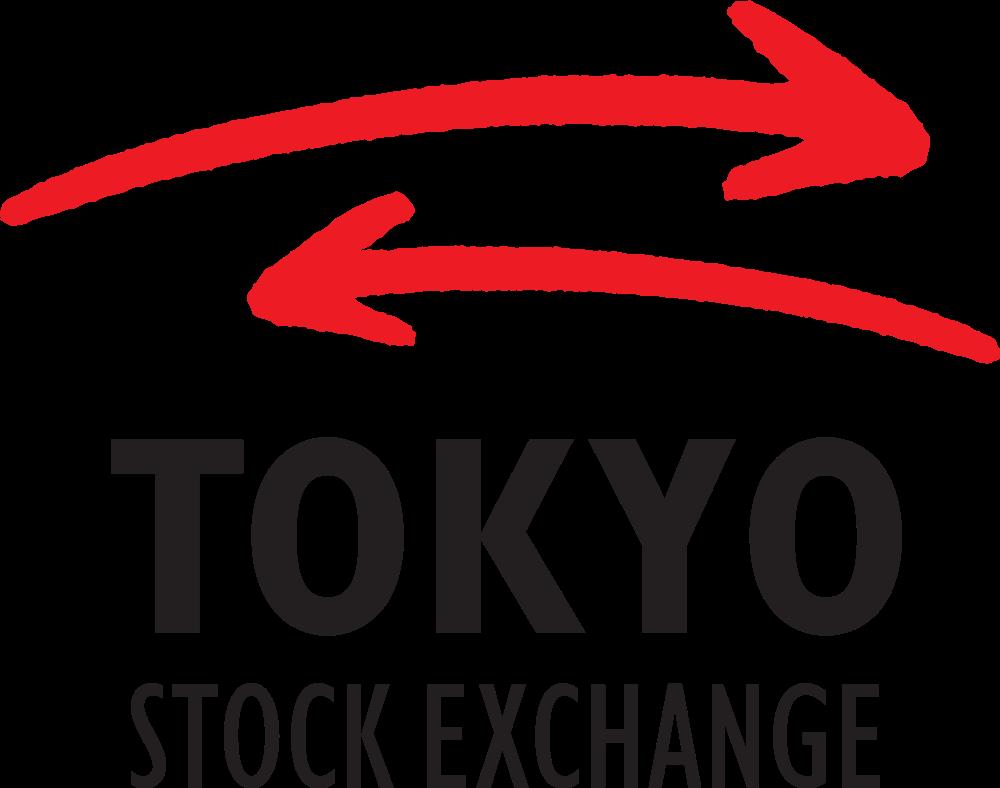 tokyo stock exchange logo banks and finance logonoidcom