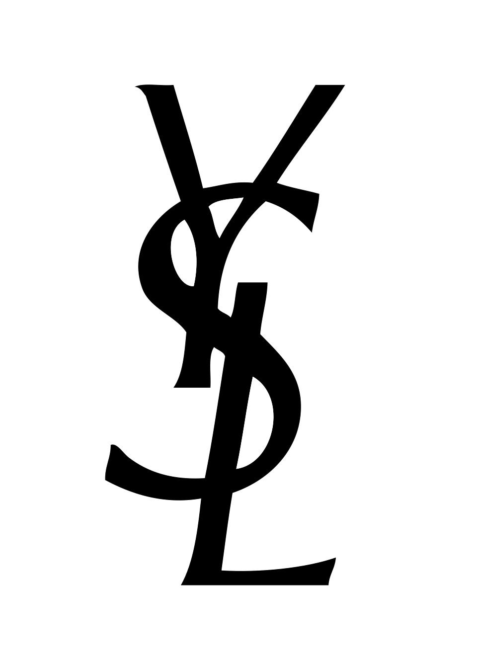 Resultado de imagen de yves saint laurent logo